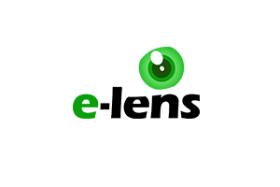 E-Lens logo